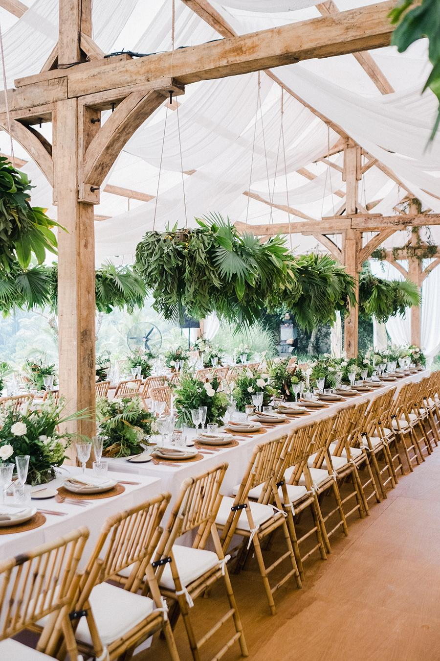 An Elegant Wedding Amidst The Rice Fields