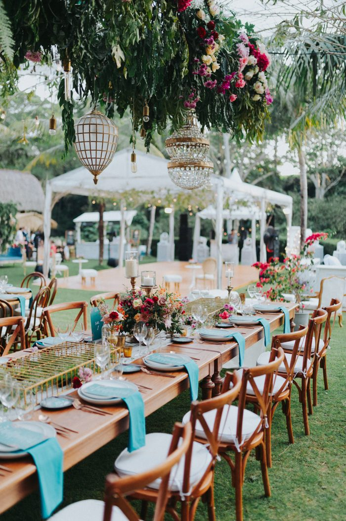 The Colorful Midsummer Night Wedding